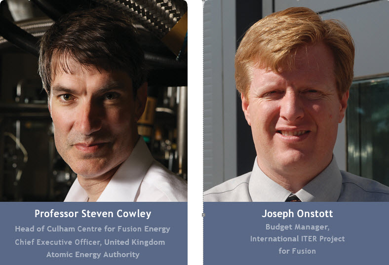 Steven Cowley and Joe Onstott